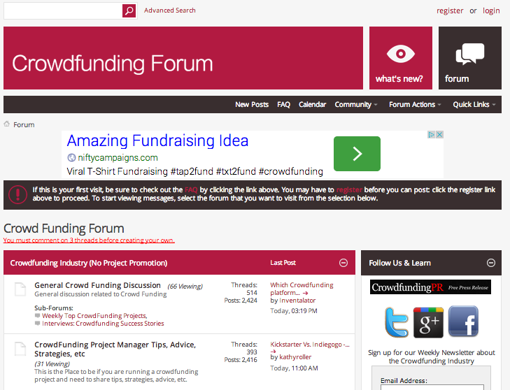 crowdfundingforum