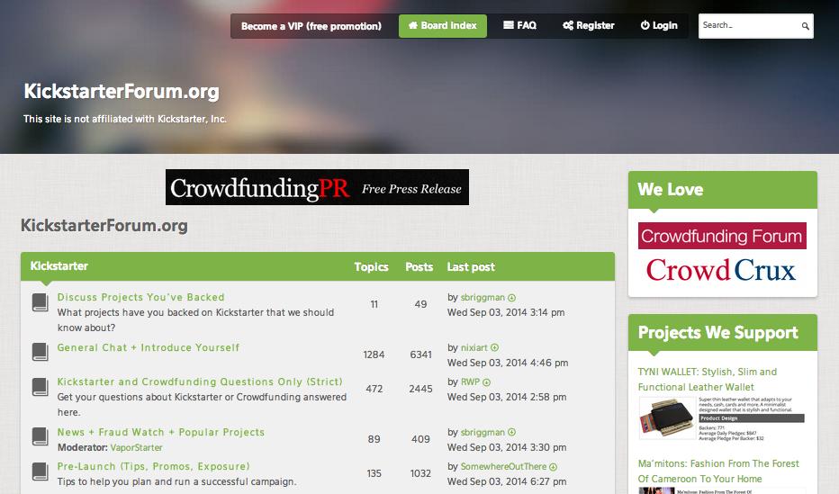 kickstarterforum