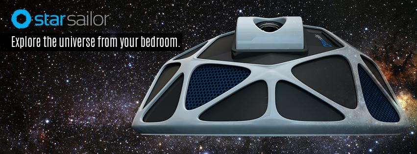 StarSailor – LiveSky: Stargaze from Your Bedroom with this Next-Gen Entert...