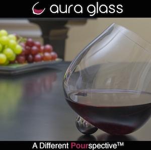 AURA GLASS – A UNIQUE ROTATING WINE GLASS