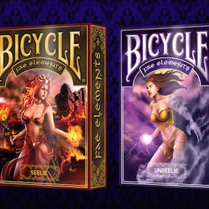 Fae Elements Bicycle Playing Cards on Kickstarter