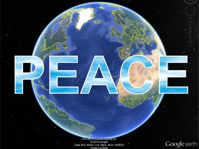 'GIVE PEACE A CHANCE' AIMS TO SPREAD PEACE ON EARTH THROUGH PERFORMANCE ART