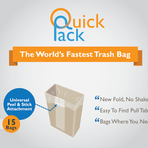 EXPERIENCE OPTIMAL BAGGING WITH QUICK-PACK ON KICKSTARTER