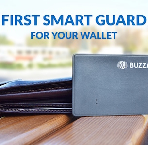 BUZZARM: THE WORLD'S FIRST SMART GUARD FOR WALLETS