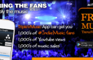 Go Viral With the TripleVMusic App on Kickstarter