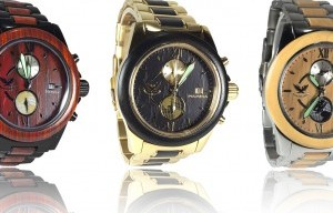 Natura Launches Campaign For Wood And Stainless Steel Chrono Watches