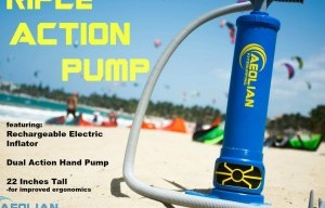 Hybrid/Electric Triple Action Pump for Kitesurf, SUP and Boats