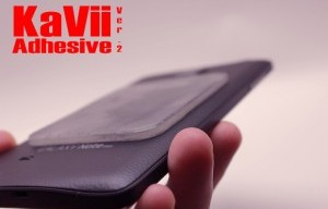 KaVii Version 2: Rewashable and Reusable Adhesive Pads!