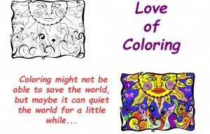 Love of Coloring Launches on Kickstarter