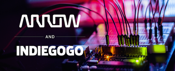 Arrow-Electronics-Indiegogo-partnership