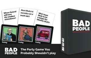 Hilarious New Party Game 'Bad People' Raises Over $50K on Kickstarter