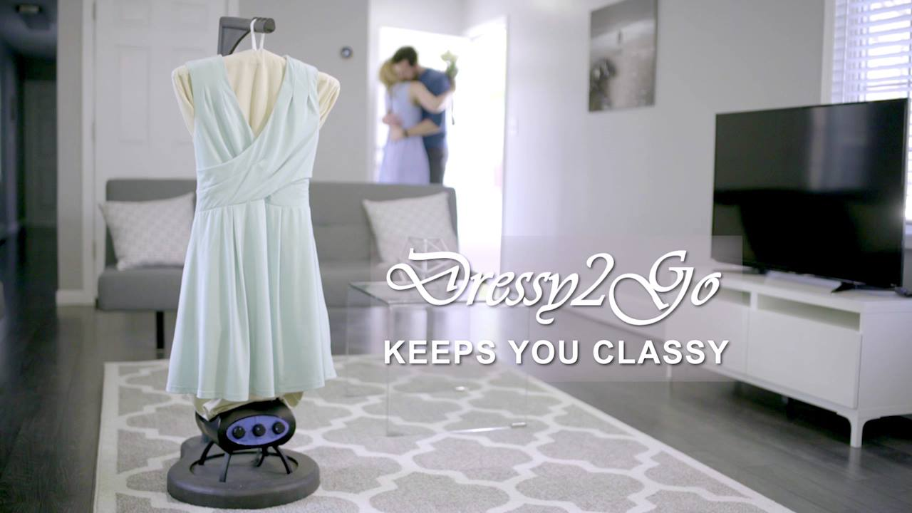 DRESSY2GO: EFFORTLESSLY DRY AND WRINKLE-FREE CLOTHES