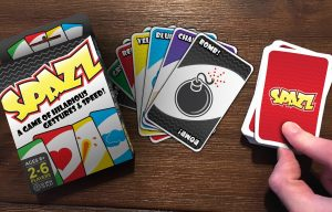Spazz The Card Game Launches on Kickstarter. A Fun, Silly Game for Everyone to Enjoy!