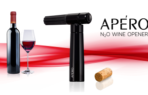 APÉRO – The World's First N2O Powered Wine Opener