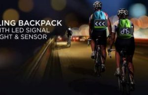 World's  Smallest Safest Cycling Backpack