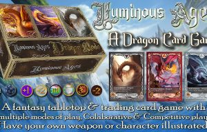 Luminous Ages: A Fantasy Dragon Card Game and Comic Book Series