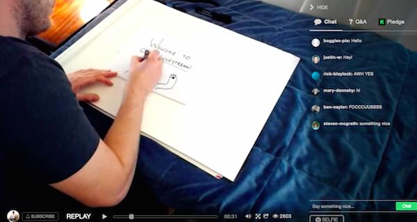 kickstarter-livestream