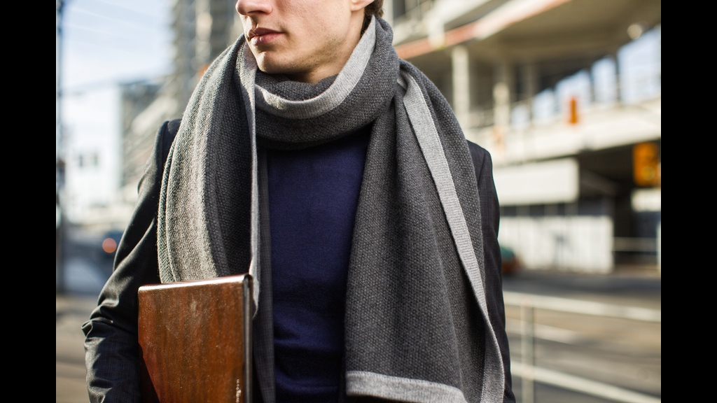 Jovens Pure Cashmere Custom Scarf Launches On Kickstarter