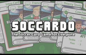 Soccardo: A Tabletop Soccer Game that Anyone Can Play