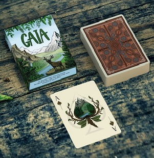 BEAUTIFULLY-DESIGNED GAIA PLAYING CARDS NOW AVAILABLE ON KICKSTARTER