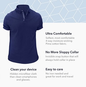 BAOBAB: THE LONG LASTING SUPER PREMIUM POLO SHIRT NOW AVAILABLE ON KICKSTARTER