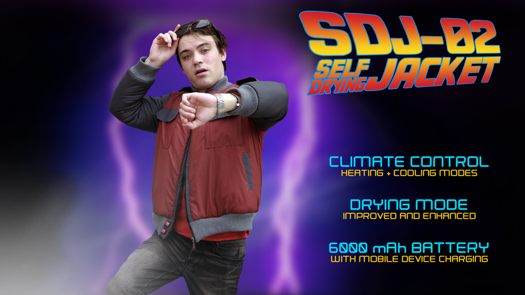 THE SDJ-02: CLIMATE CONTROLLED SELF DRYING JACKET