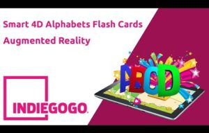Alphabet Corner, the Augmented Reality Based 4D Smart Card Learning Kit, Invites Crowd Funding on Indiegogo