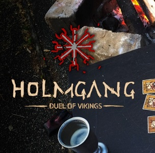 HOLMGANG: DUEL OF VIKINGS TWO-PLAYER CARD GAME LETS YOU RESOLVE YOUR DISPUTES – DARK AGES STYLE