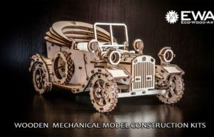 EcoWoodArt Launches Kickstarter Campaign to Raise Funds for Wooden Mechanical Construction Kits