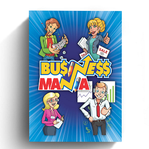BUSINESS MANIA BOARD GAME IS 60% FUNDED ON INDIEGOGO