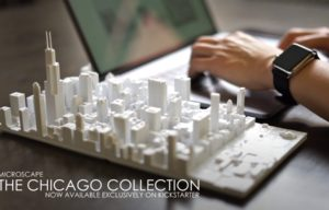 Microscape Captures Downtown Chicago in 3D-Printed Models