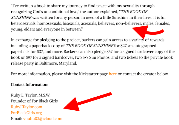 How To Write A Kickstarter Press Release Examples Resources